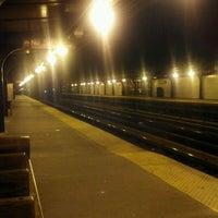 Photo taken at MTA Subway - Halsey St (J/Z) by Liz S. on 2/1/2012
