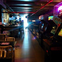 Photo taken at Barcade by Christophe J. on 12/7/2014