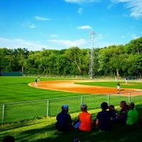 Photo taken at The Mini Met Ballpark by Joe P. on 5/26/2015