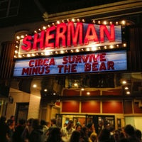 Photo taken at Sherman Theater by Charissa G. on 3/22/2013