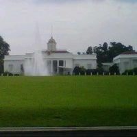 Photo taken at Bogor Palace by Arumi P. on 11/29/2012