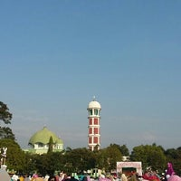 Photo taken at Alun Alun Majalengka by Haniva H. on 7/17/2015