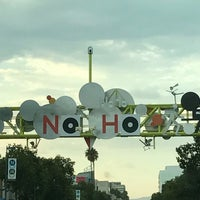 Photo taken at NoHo Sign by Antoinette B. on 9/2/2017