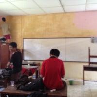 Photo taken at SMA Negeri 2 Medan by Novantri P. on 10/5/2013