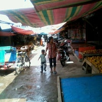 Photo taken at Pasar Pulau Payung by Pioneer P. on 1/4/2013