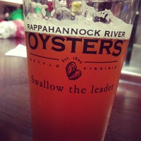 Photo taken at Rappahanock Oyster Bar by John T. on 9/29/2012