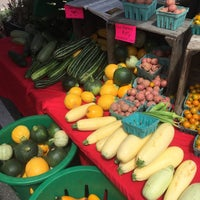 Photo taken at Del Ray Farmers' Market by John T. on 6/20/2015