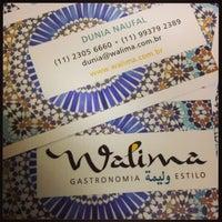 Photo taken at Walima Gastronomia e Estilo by Fabi G. on 8/29/2013