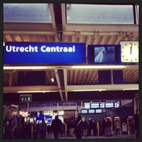 Photo taken at Utrecht Central Station by Rodrigo B. on 6/1/2013