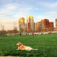 Photo taken at Parque Canino by Rodrigo B. on 9/21/2012