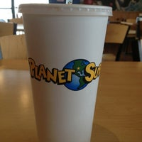 Photo taken at Planet Sub by Isaac T. on 3/3/2013