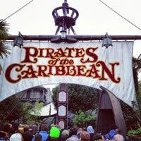 Photo prise au Pirates of the Caribbean par Damian F. le3/24/2013