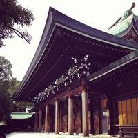 รูปภาพถ่ายที่ ศาลเจ้าเมจิ โดย Kazuya S. เมื่อ 1/6/2013