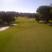 Photo taken at Laranjal Golf - Quinta do Lago by Ian C. on 8/14/2014