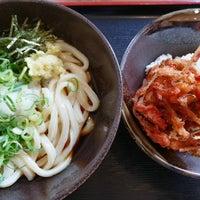 Photo taken at 讃岐製麺 熱田日比野店 by _skylarking_ on 6/26/2018