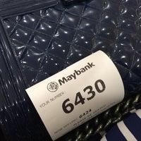 Photo taken at Maybank by SherryWan  예. on 5/30/2016