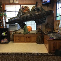 Photo taken at Airboat Tours by Arthur by Vivian D. on 9/19/2016
