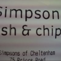 Photo taken at Simpson's Fish & Chips by Jonathan G. on 9/9/2013