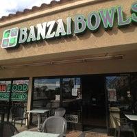 Photo taken at Banzai Bowls by Warren S. on 11/16/2012