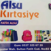 Photo taken at ALSU kırtasiye by Fatih A. on 9/26/2016