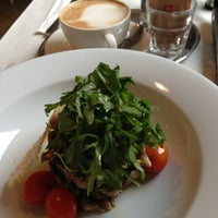 Photo taken at Mistral Café Restaurant by Lammert W. on 12/11/2012