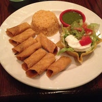 Photo taken at Compadre's Mex Mex Grill by Ally on 1/10/2013