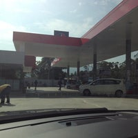 Photo taken at Caltex by chiewwl (William) .. on 4/13/2014