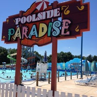 Photo taken at Poolside Paradise by Baltimore's K. on 7/29/2013