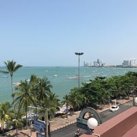 Photo taken at Baywalk Residence Pattaya by Sakesun P. on 3/12/2017