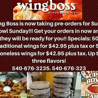 Photo taken at Wing Boss by Promote C. on 1/28/2017