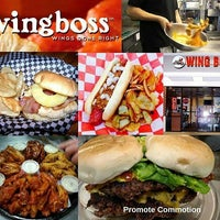 Photo taken at Wing Boss by Promote C. on 5/10/2017