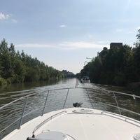 Photo taken at Yachtclub Deinze by michel v. on 7/24/2018