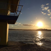 Photo taken at Noosa Heads by Carlos F. on 5/24/2014