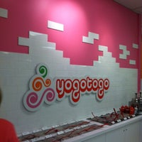 Photo taken at Yogotogo Frozen Yogurt by Nate A. on 3/26/2014