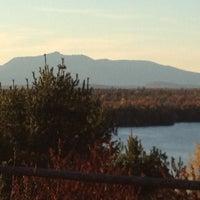 Photo taken at Mount Katahdin by Jasmine J. on 10/9/2012