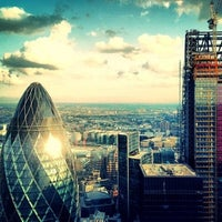 Photo taken at Duck & Waffle by Ropson on 7/11/2013