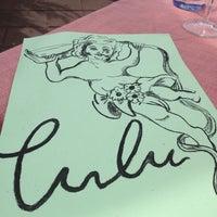 Photo taken at Restaurant Lulu by Chantal v. on 7/17/2013
