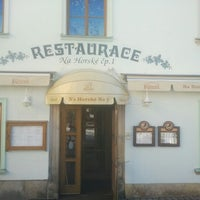 Photo taken at Restaurace No. 1 by Daniel G. on 2/6/2013