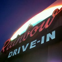 Photo taken at Rainbow Drive-in by Stephen C. on 11/29/2012
