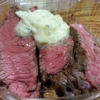 Photo taken at HI Steaks by Stephen C. on 4/7/2013
