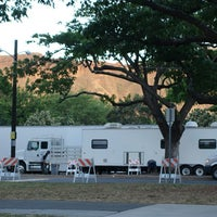 Photo taken at Zoo Parking Lot by Stephen C. on 7/8/2014