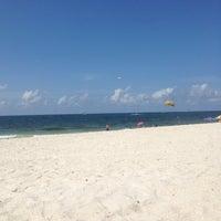 Photo taken at Silver Beach by Megan W. on 6/24/2014