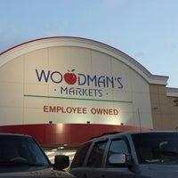 Photo taken at Woodman's Food Market by Tim W. on 8/23/2013
