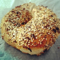 Photo taken at Terriganis Bagels by Dominique I. on 2/24/2013