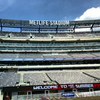 Photo taken at MetLife Stadium by Herman S. on 6/2/2013