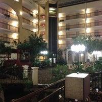 Photo taken at Embassy Suites by Hilton Detroit Livonia Novi by KS O. on 10/16/2012