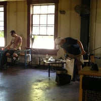 Photo taken at Simon Pearce Glassblowing by Michelle R. on 7/6/2013