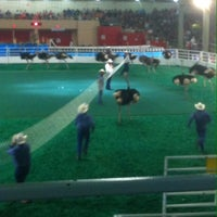 Photo taken at Ostrich Races by Scott M. on 10/13/2013