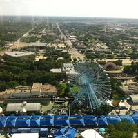 Photo taken at The Top o' Texas Tower by Scott M. on 6/24/2013