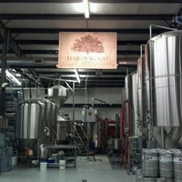 Photo taken at Hardywood Park Craft Brewery by Dave T. on 10/21/2012